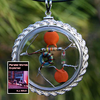 photo of Tesla Gift Set, amulet, book, Parallel Worlds Explored